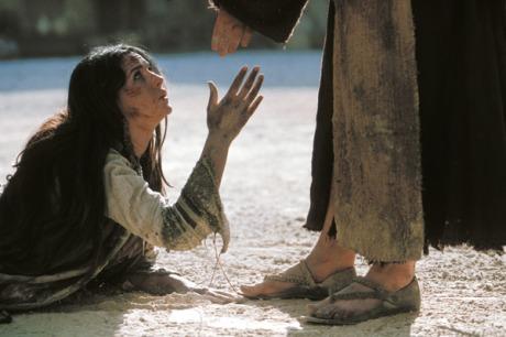 Jesus y mujer adultera