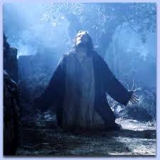 jesús orando gibson
